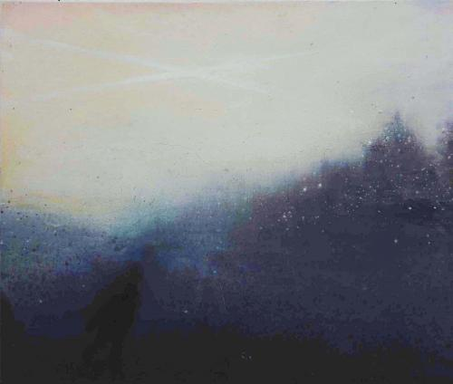 Crossair, oil on canvas, 1998